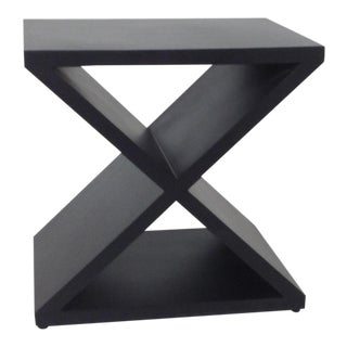 Modern Iron End Table For Sale