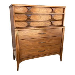 Kent Coffey Highboy Gentlemen's Chest For Sale