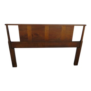 Mid Century Modern Full or Queen Size Headboard For Sale