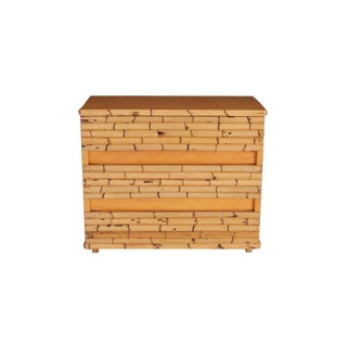 Venturini Bamboo Chest of Drawers For Sale