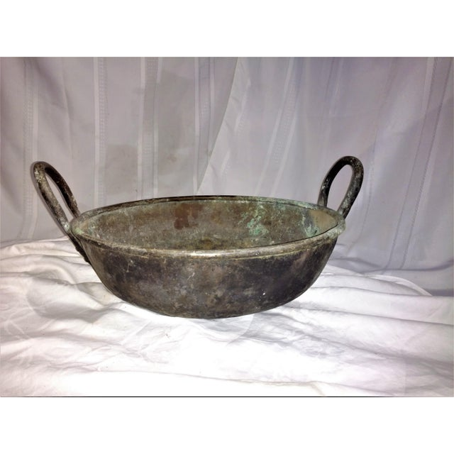 Asian 19th Century Ceylonese Basin Pot For Sale - Image 3 of 10