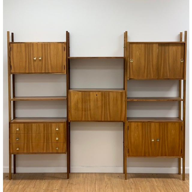 Mid Century Vintage Wall Unit For Sale - Image 13 of 13