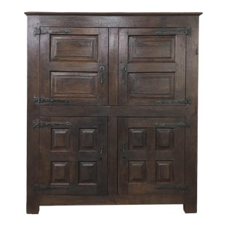 18th Century Rustic Dutch Armoire ~ Cabinet For Sale