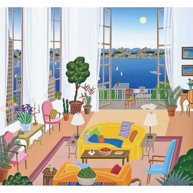 Pop Art Thomas McKnight Riverside Drive 1995 For Sale - Image 3 of 3