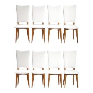 Mid-Century Scandinavian Danish Teak Chairs- Set of 8 For Sale