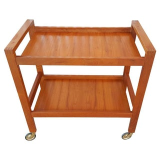 Hans Andersen Artex Teak Bar Cart or Trolly