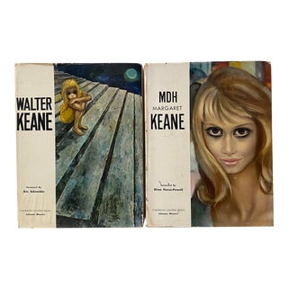 1960s Walter & Margaret Keane Art Books - a Pair For Sale