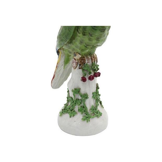 19th Century 19th Century Antique French Paris Porcelain Parrot For Sale - Image 5 of 7