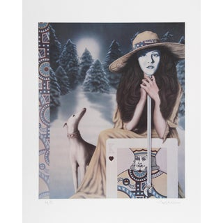 Robert Anderson, the King of the Masque, Lithograph For Sale