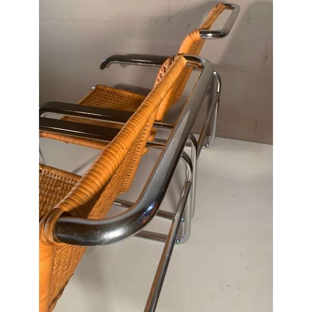 Classic Marcel Breuer B35 Chairs Icf - a Pair For Sale - Image 9 of 13