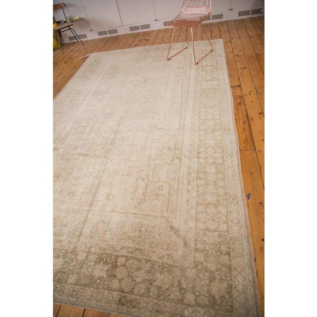 "1970s Vintage Oushak Carpet - 7'3"" x 12'2"" For Sale - Image 5 of 7"