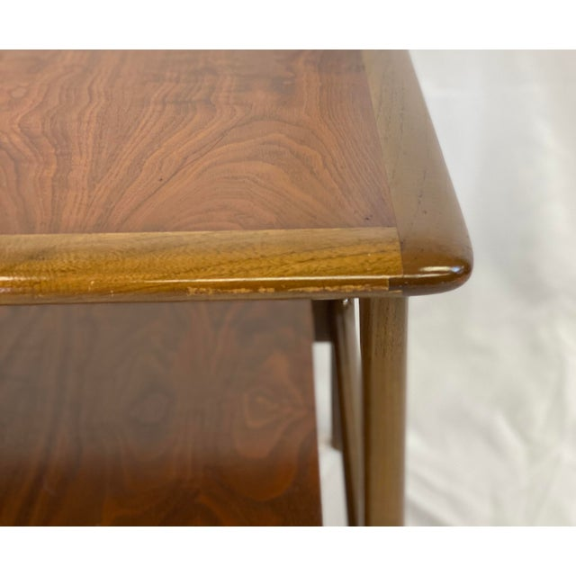 Vintage Mid Century Modern Lane Perception Side Table / Nightstand For Sale - Image 10 of 11