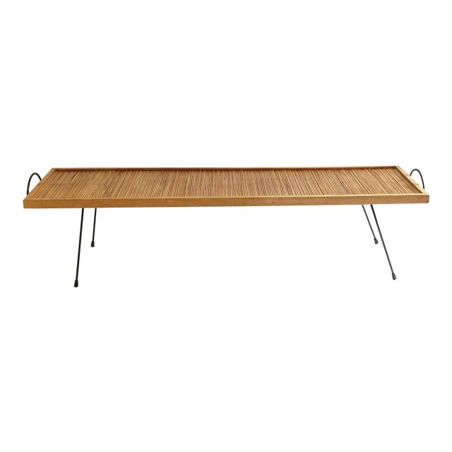 Laverne Originals Mid-Century Dowel Coffee Table For Sale