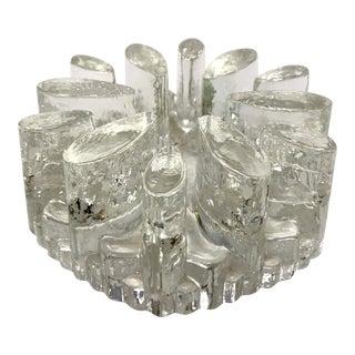 Mid 20th Century Crystal Votive Tea Light Warmer For Sale