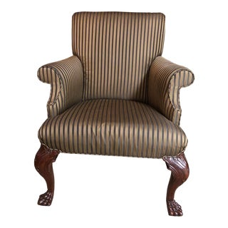 Baker Stately Homes Irish Baroque Tub Chair For Sale