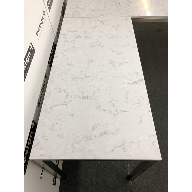 Marble Portica Desk and Return, by Room & Board For Sale - Image 7 of 13