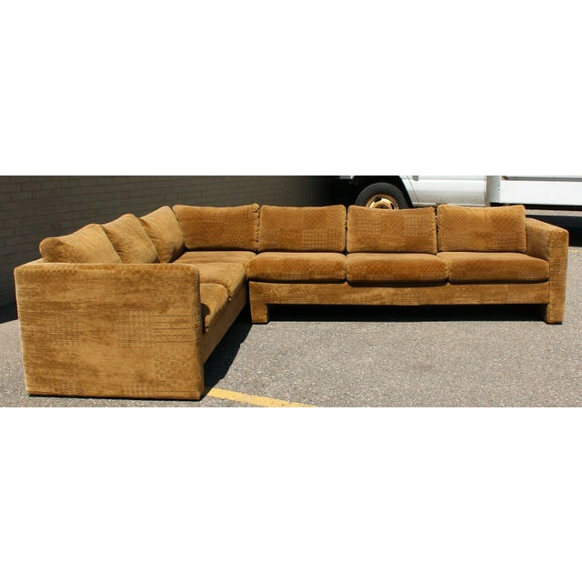 Mid Century Modern Danish Selig 2 Piece Sectional For Sale In Detroit - Image 6 of 8
