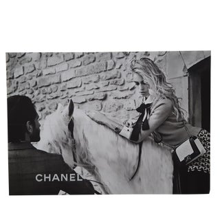 Vintage Chanel Fashion Print by Karl Lagerfeld For Sale