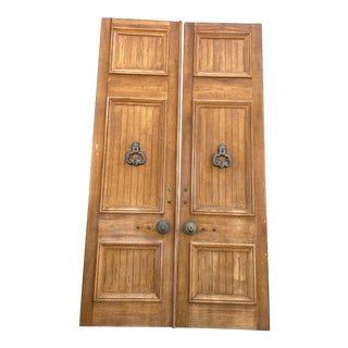 1960s Giant Spanish/Mediterranean Doors - a Pair For Sale