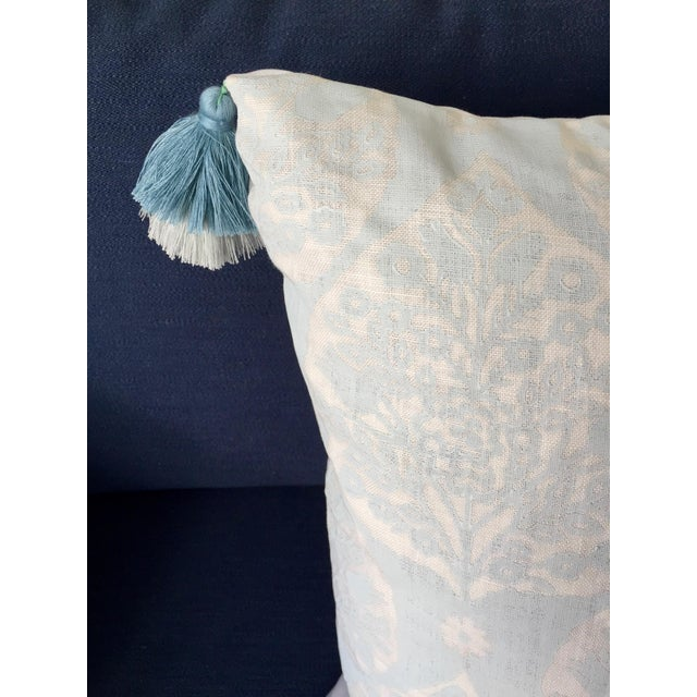 Custom Galbraith & Paul Little Lotus Pillow Cover For Sale - Image 4 of 5