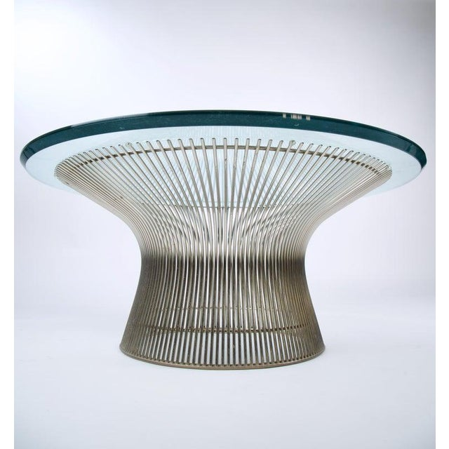 1960s 1960s Mid-Century Modern Warren Platner for Knoll Coffee Table For Sale - Image 5 of 9