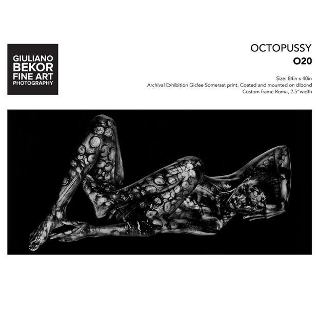 """Abstract Giuliano Bekor """"Octopussy"""" O20, Photograph For Sale - Image 3 of 3"""