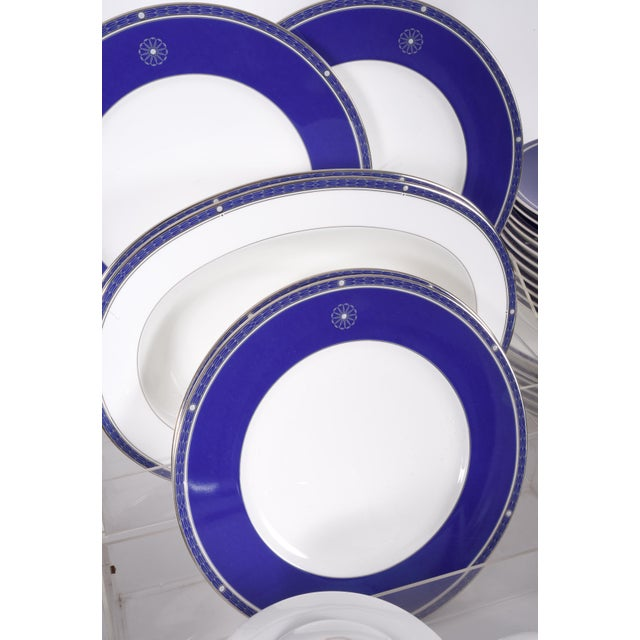 Wedgwood Wedgwood English Porcelain Dinnerware Service for Ten People - 83 Piece Set For Sale - Image 4 of 13