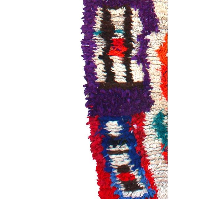 "Vintage Ourika Moroccan Berber Rug - 4'6"" X 8'9"" - Image 3 of 5"