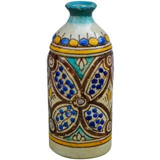 Moorish Ceramic Vase For Sale