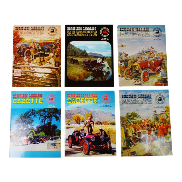 Horseless Carriage Gazette Magazines - 1970 Full Year - Collectible - Image 1 of 10