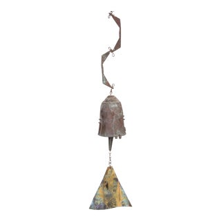 Early Paolo Soleri Wind Bell in Cast Bronze