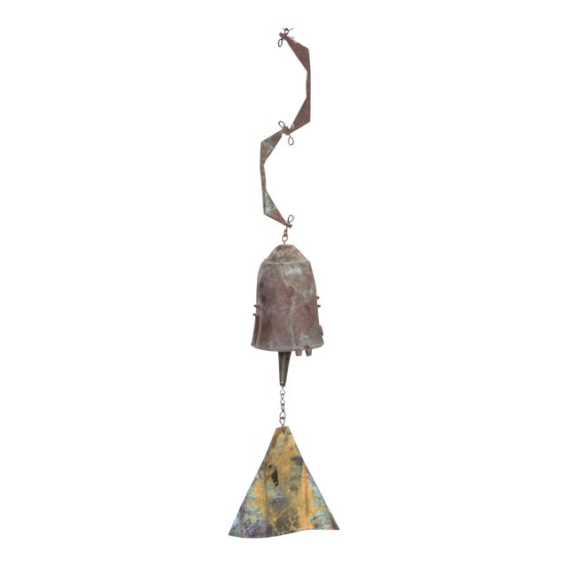 Early Paolo Soleri Wind Bell in Cast Bronze For Sale