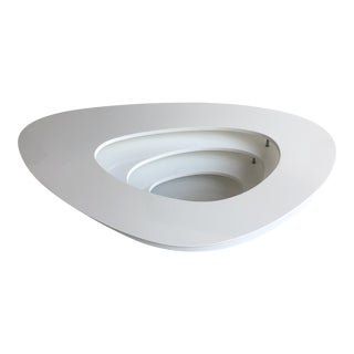 Ligne Roset White Interstice Coffee Table For Sale