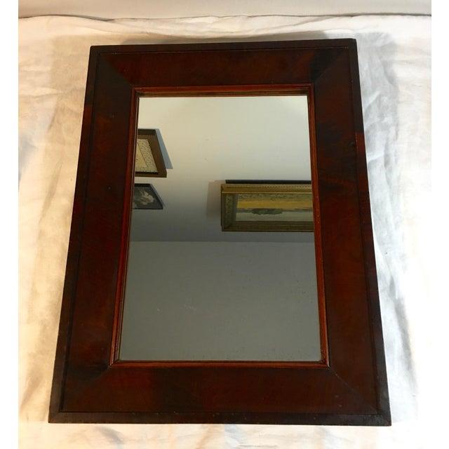 Antique Mahogany Mirror - Image 2 of 7