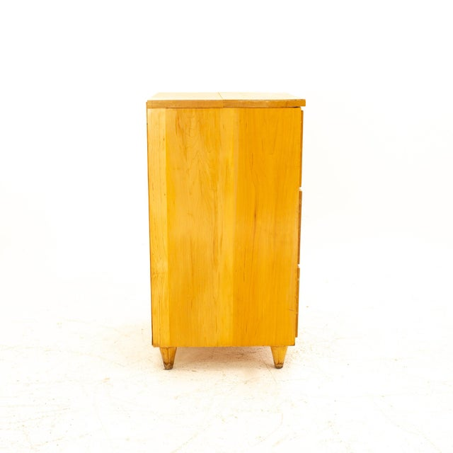 Paul McCobb Paul McCobb Style Mid Century 3 Drawer Nightstand For Sale - Image 4 of 9