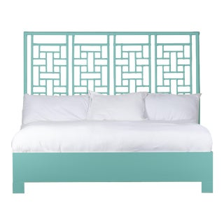 Ohana Bed King - Turquoise For Sale