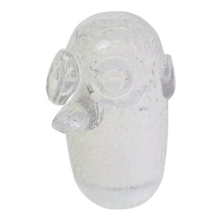 Cut Glass Ogre Paperweight For Sale