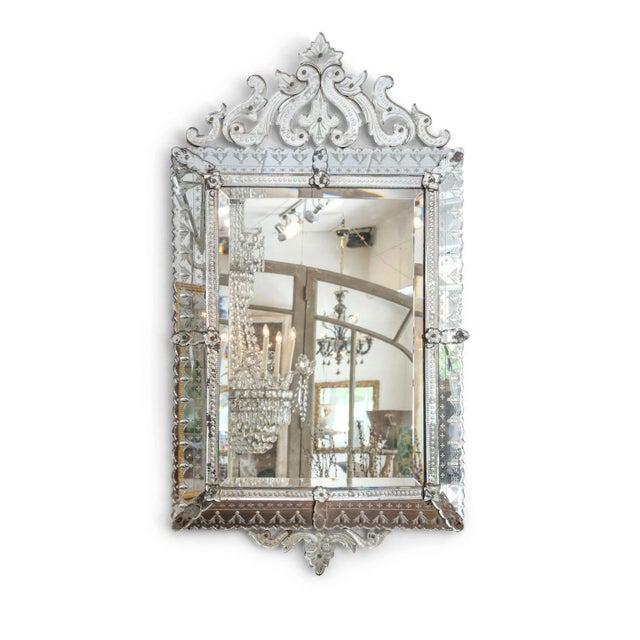 Large Rectangular Venetian Mirror For Sale - Image 12 of 12