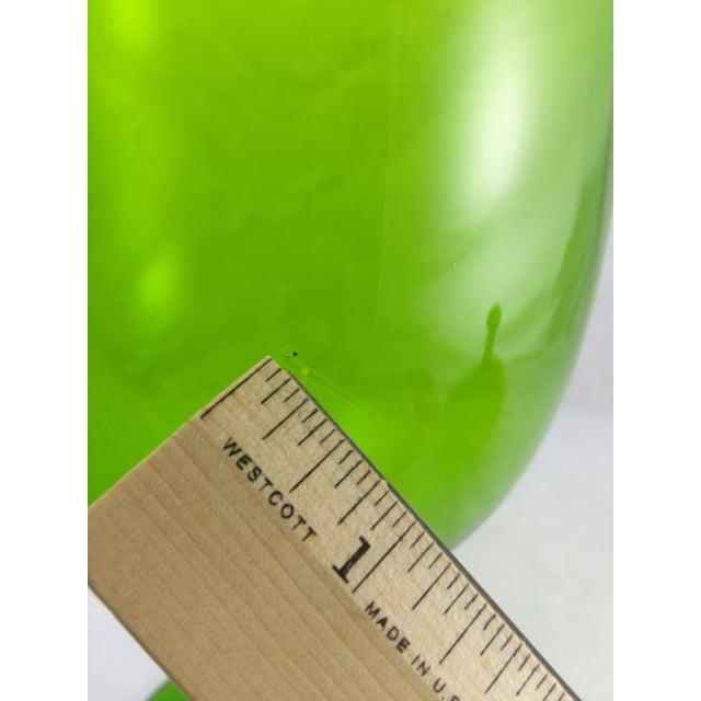 Empoli Italian Art Glass Apothecary Candy Jar - Image 11 of 11