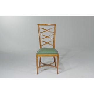 1950s Vintage Italian Oak Chairs Gio Ponti- Set of 6 Preview