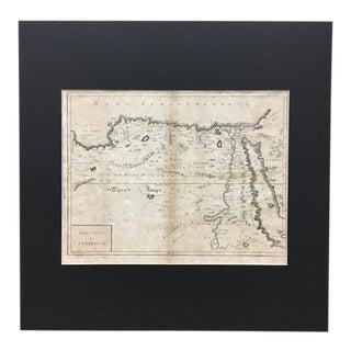 18th Century Map - Aegyptus Et Cyrenaica For Sale