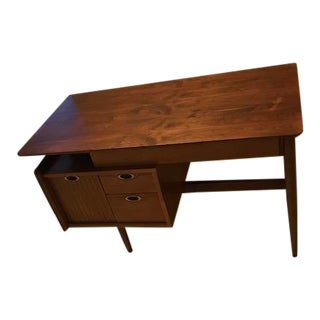"1950s Danish Modern Hooker Furniture ""Mainline"" Writing Desk For Sale"