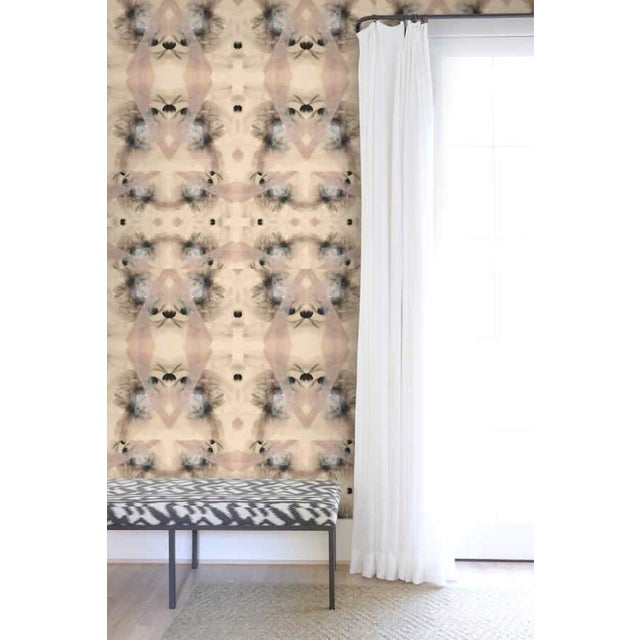 Contemporary Bohemian Riff Large Wallpaper For Sale - Image 3 of 5