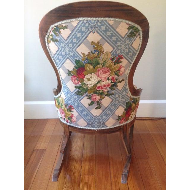 Victorian Ladies' Slipper Rocking Chair - Image 4 of 10