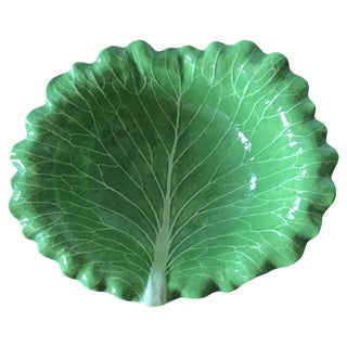Dodie Thayer Leaf Bowl