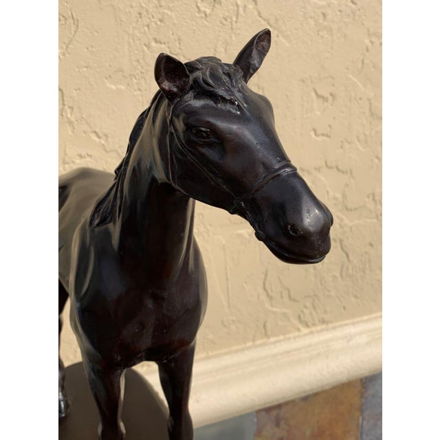 Early 21st Century Maitland Smith Equestrian Bronze For Sale - Image 5 of 10
