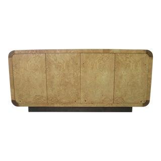 Henredon Olive Burl Cabinet Sideboard Scene Two Milo Baughman Pace For Sale