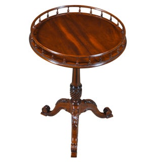 French Mahogany Gallery Table For Sale