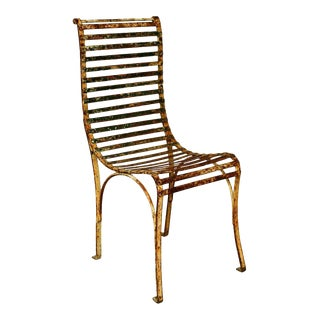 Single French Garden Chair For Sale
