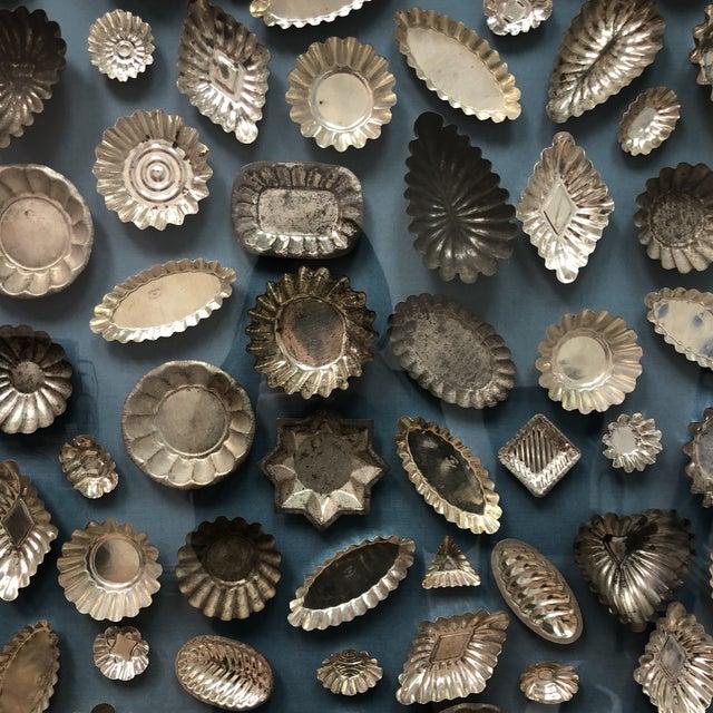 Framed Collection of Tart Molds For Sale - Image 4 of 11